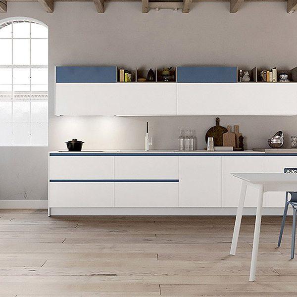 Cucina - Glass 01 - Arredo3 - Centro Dell\'arredamento di Savona