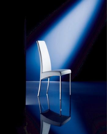 sedia Aida Bontempi bianca