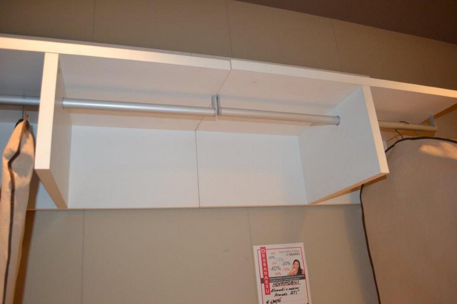 Elemento cabina armadio at novamobili centro dell for Sconti arredamento