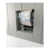 armadio grafik caccaro con vano tv al centro della'rredamento ligure scontato