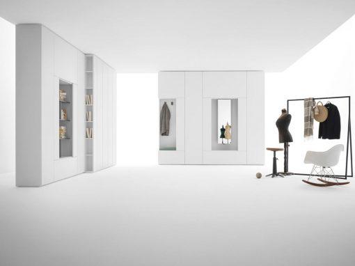 armadio roomy modulare by caccaro al centro dell'arredamento ligure