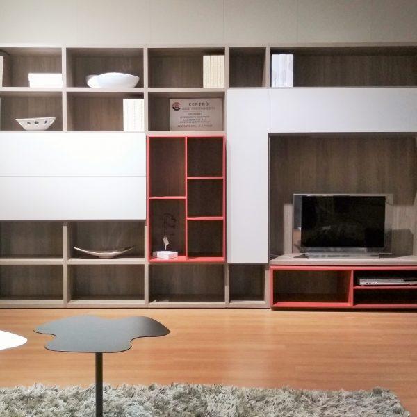 Libreria soggiorno - Novamobili - Centro Dell\'arredamento di Savona