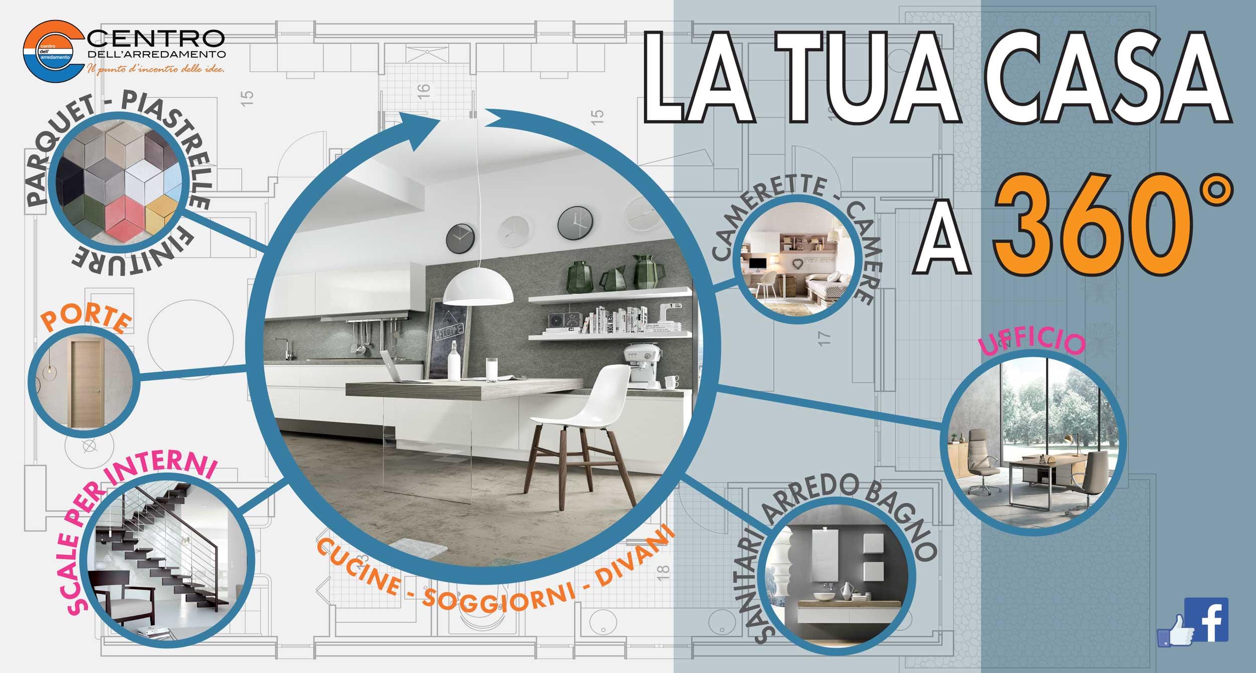 La tua casa a 360 centro dell 39 arredamento di savona for Costruisci la tua casa personalizzata