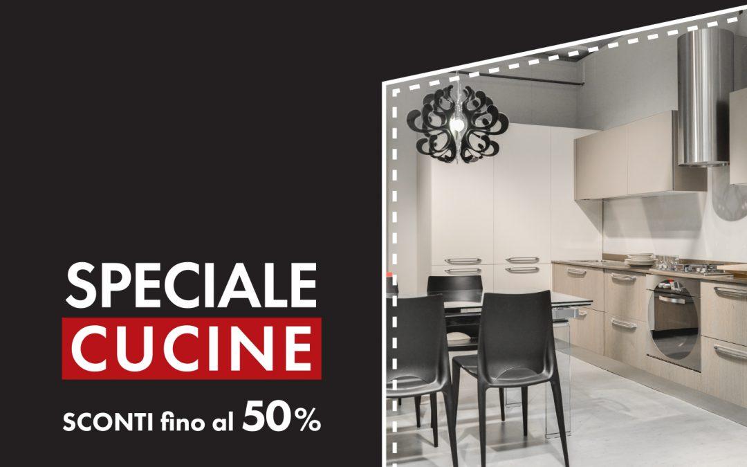 Speciale Cucine di Maggio  Sconti fino al 50% sulle cucine in esposizione