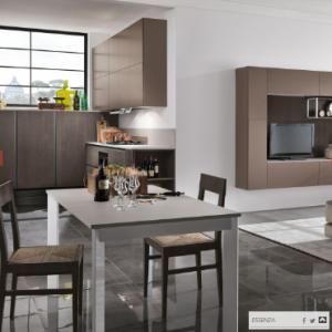 cucina moderna artec al centro dell'arredamento ligure
