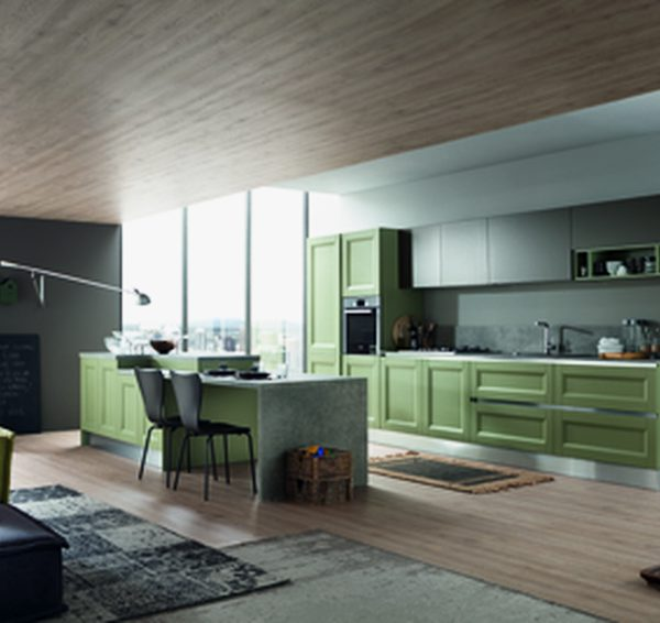 Cucina Blues - Forma 2000- Centro Dell\'arredamento di Savona