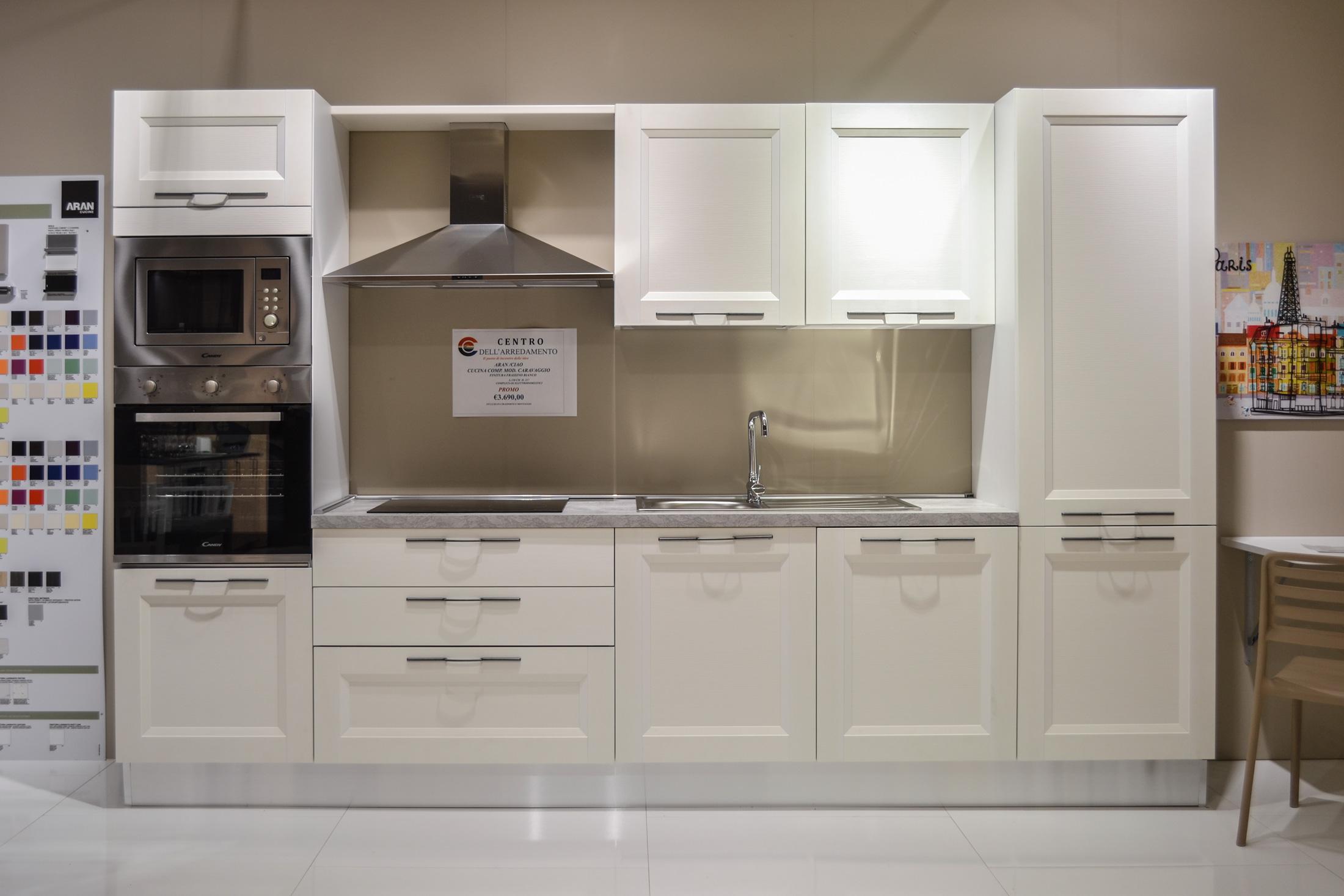 Centro Mobili Design Caravaggio.Cucina Aran Caravaggio Promozione Centro Dell Arredamento Di Savona