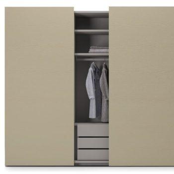armadio scorrevole flat by caccaro al centro dell'arredaemento di savona
