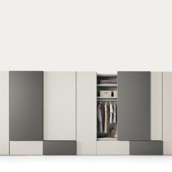 armadio scorrevole grafik by caccaro al centro dell'arredamento di savona