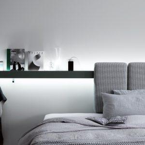 Groove sistema letto by caccaro al centro dell'arredamento di savona