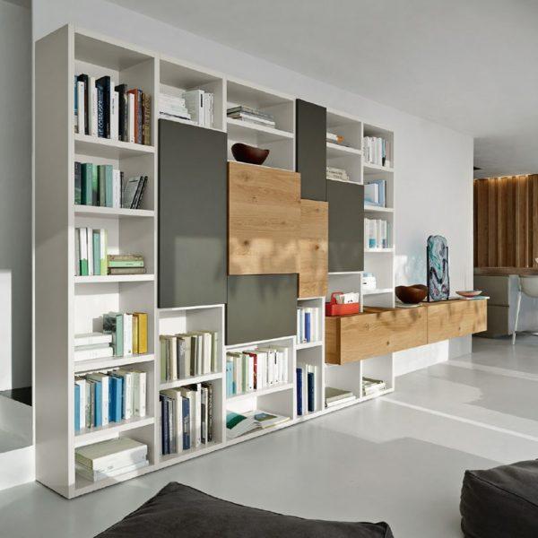 Centro dell 39 arredamento savona libreria sangiacomo living for Centro dell arredamento osnago