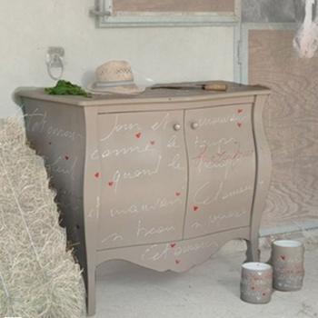 credenza tortora camera da letto shabby centro dell'arredamento ligure