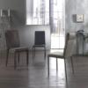sedia moderna kilt by zamagna ecopelle al centro dell'arredamento ligure
