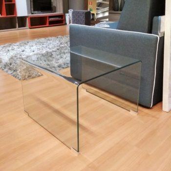 tavolino in vetro semplice by bizzotto al centro dell'arredamento ligure