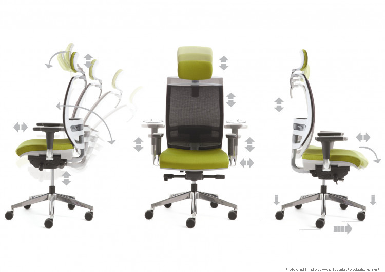 office inn sedia ergonomica ufficio poltrona operativa kastel