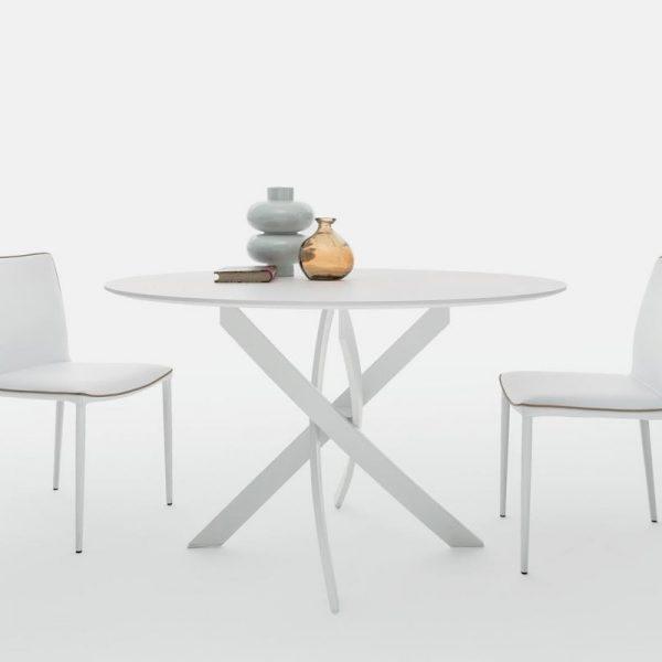Tavolo rotondo \'Barone\' - BONTEMPI - Centro Dell\'arredamento ...