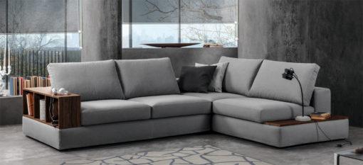 centro dell'arredamento ligure divano duttile chiaro contemporaneo