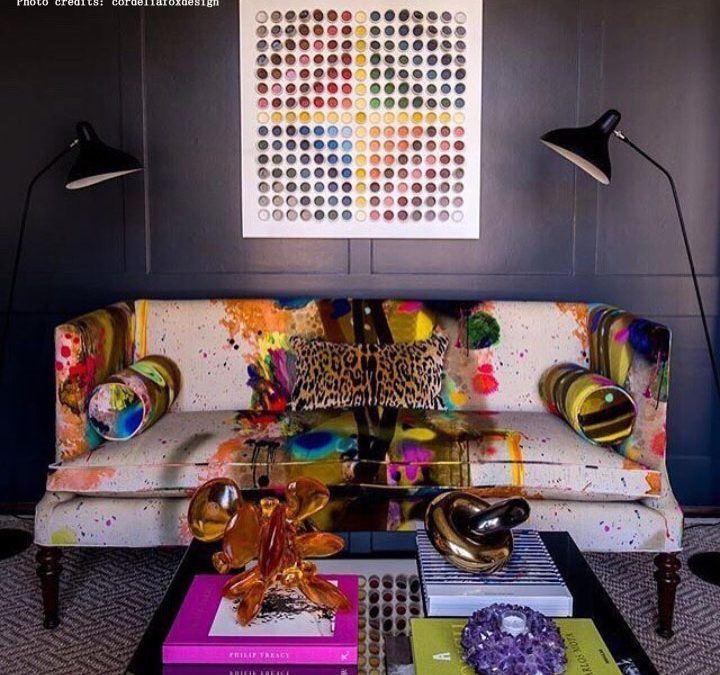 Osa col colore!  Guida all'uso dei colori nell'arredamento degli interni.