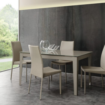 long way modello tavolo moderno by la seggiola al centro dell'arredamento ligure