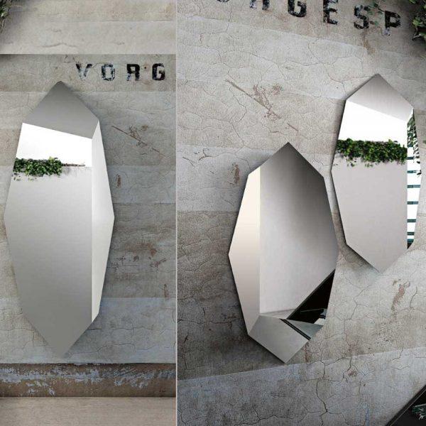Centro dell 39 arredamento savona specchio moderno prisma riflessi - Specchio diamond riflessi prezzo ...