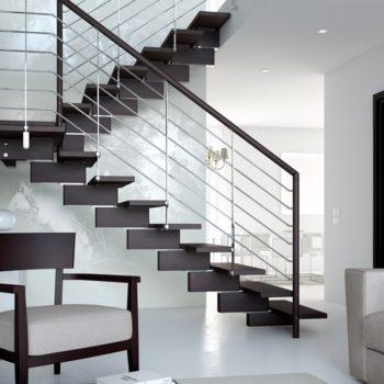scale di design d'opera al centro dell'arredamento ligure