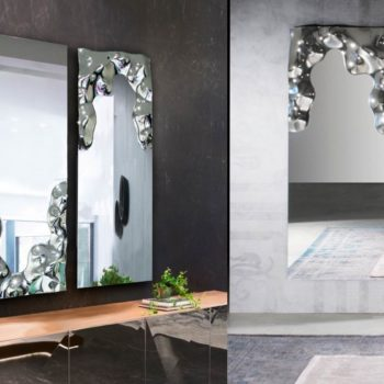 specchio venere by riflessi moderno rettangolare al centro dell'arredamento ligure