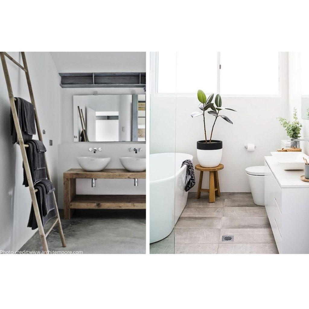 bagno in stile nordico articolo centro arredamento ligure