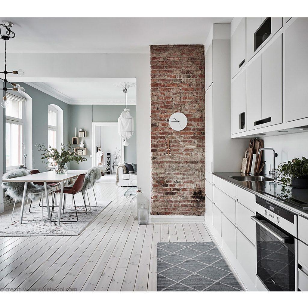 cucina stile scandinavo articolo centro arredamento ligure