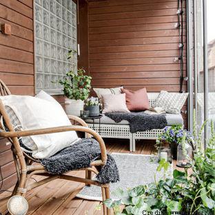 area esterna stile nordico articolo centro dell'arredamento ligure