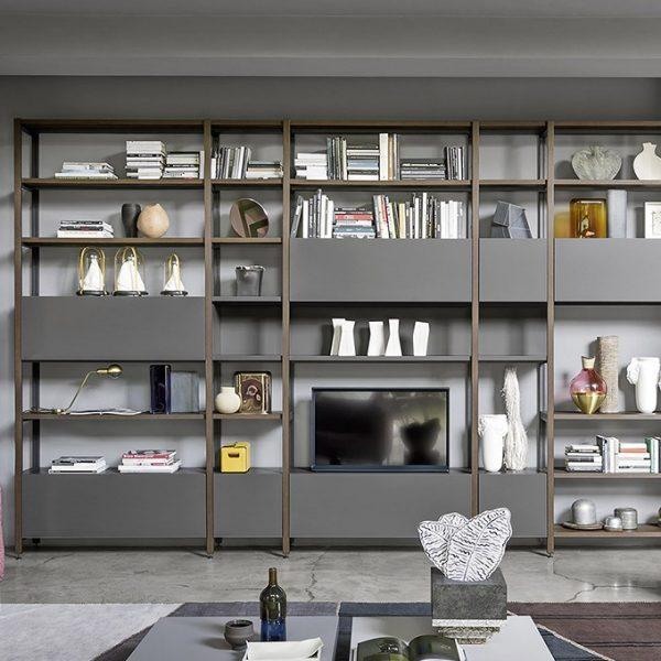 Centro dell 39 arredamento savona libreria novamobili for Centro dell arredamento