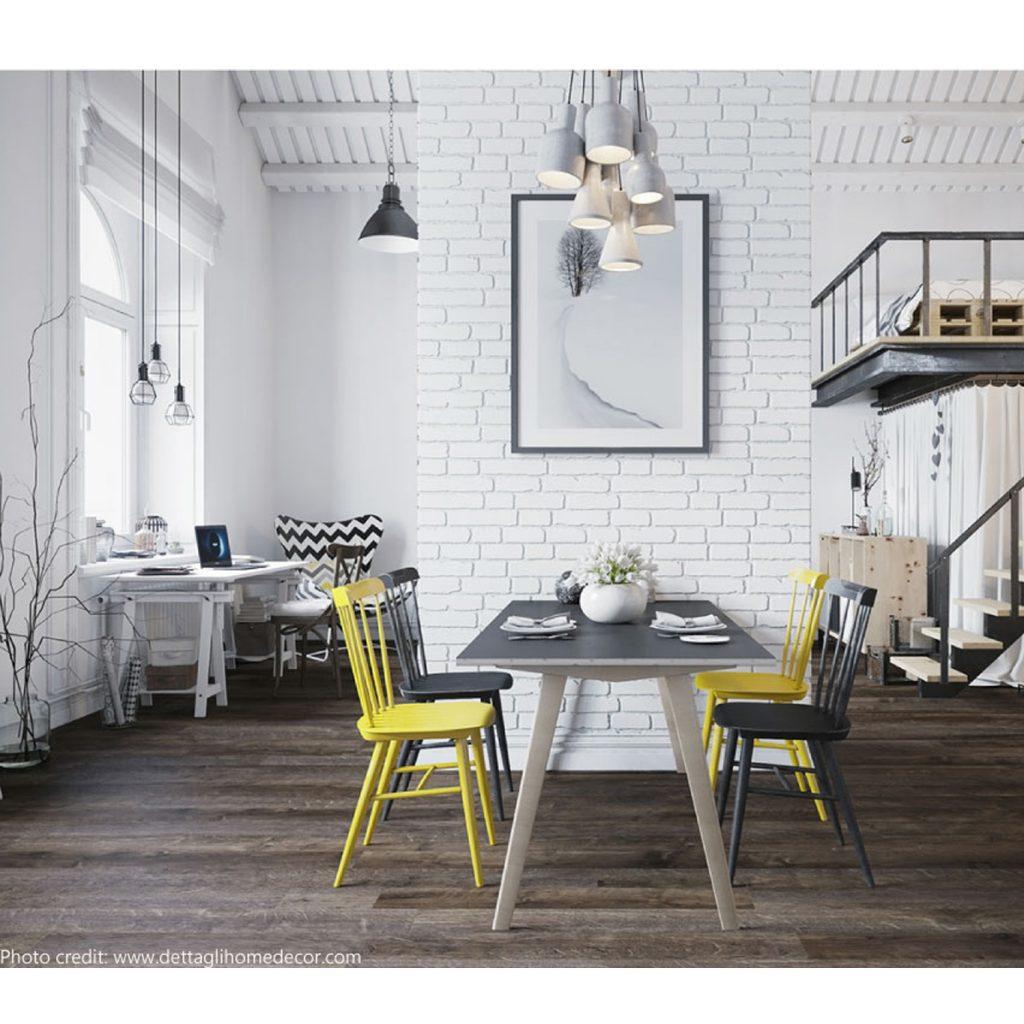 loft stile scandinavo articolo centro arredamento ligure