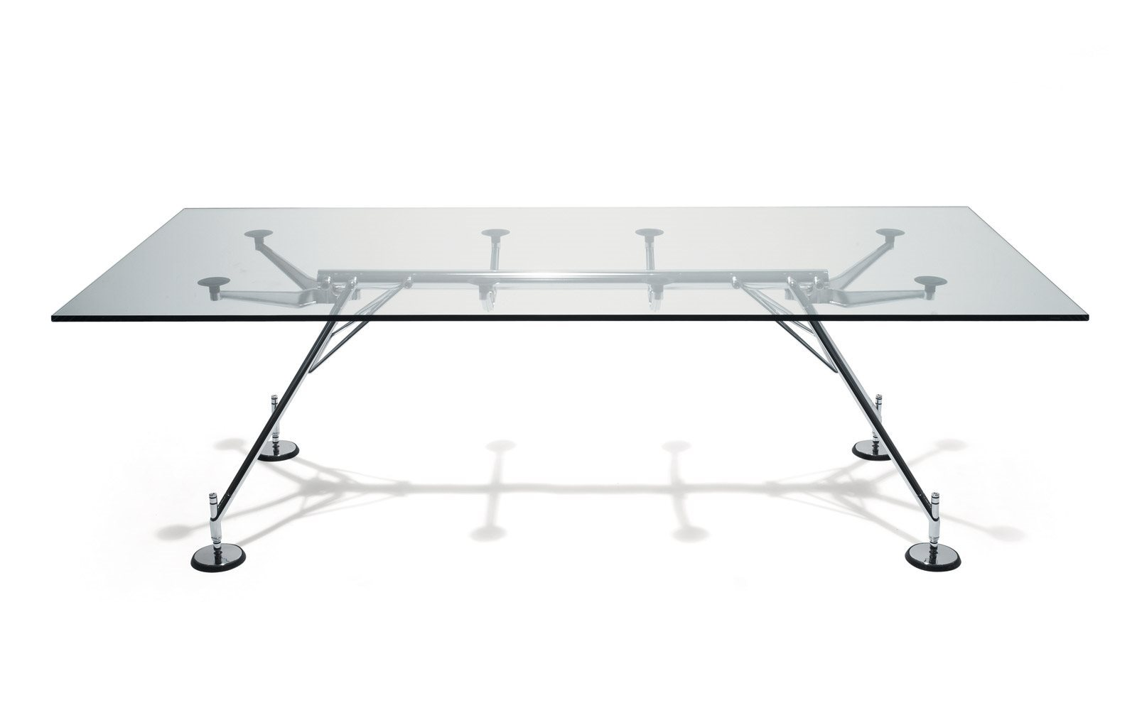 tavolo office inn tecno nomos al centro dell'arredamento ligure