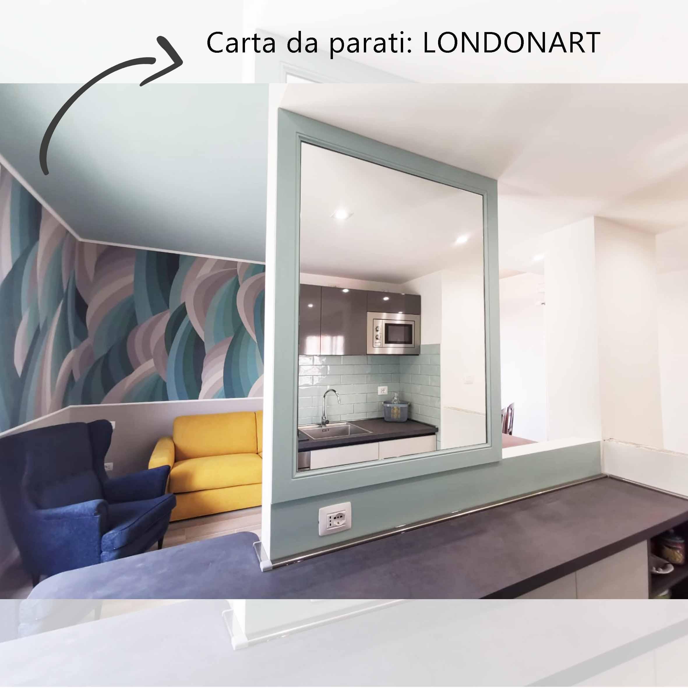 carta da parati-londonart-centro dell'arredamento-savona-realizzazioni