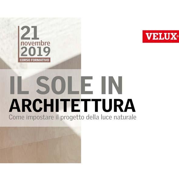 Seminario VELUX – Novembre 2019