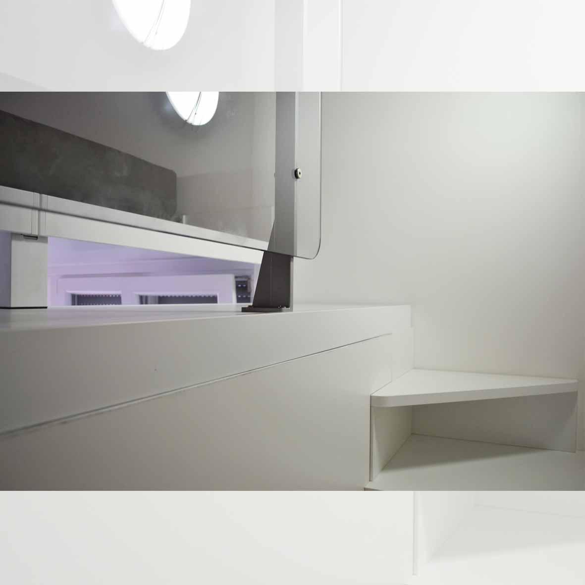 centro dell'arredamento-savona-soppalco-su misura-lavori