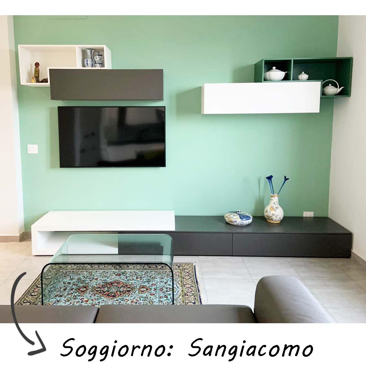 centro dell'arredamento-savona-sangiacomo-soggiorno-lampo-design